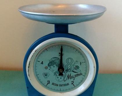 משקל וינטג' כחול
