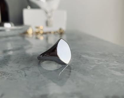 טבעת מונטל  טבעת עין  טבעת כסף 925  טבעת מעוין מעוגל  כסף סטרלינג  טבעת מעוצבת  טבעת נקיה  טבעת וינטג׳