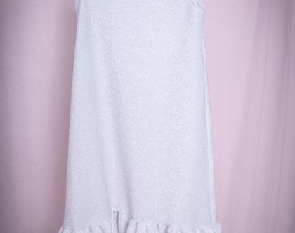 שמלה מנצנת כתף אחת