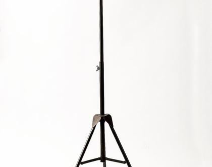 AM420 מנורה עומדת זכוכית פסים
