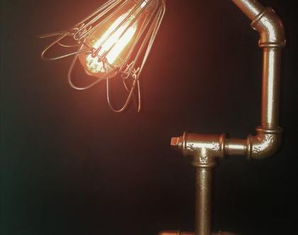 מנורת שולחן/ מנורה בסגנון Stimpank