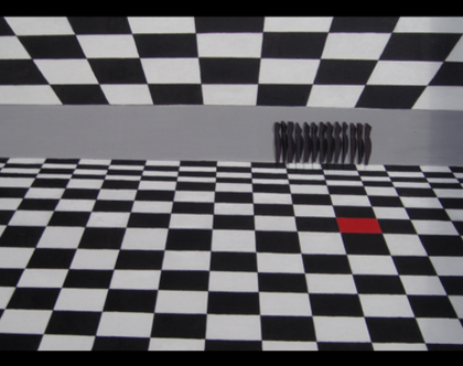אומנות , ציור מקורי שחור לבן
