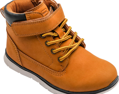 נעליים גבוהות לילדים בצבע קאמל Fila