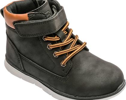 נעליים גבוהות לילדים בצבע שחור Fila