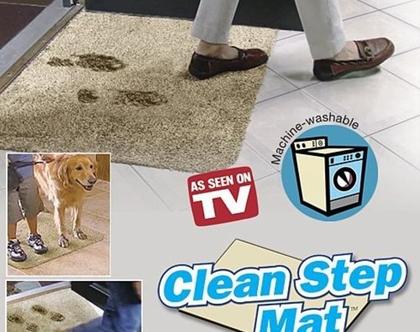 שטיח הקסם Clean Step Mat שמים סוף ללכלוך וסימני הדריכה בכניסה