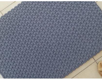שטיחון טריקו | שטיחון עבודת יד | שטיחון סרוג | שטיחון למטבח | שטיחון לכניסה | שטיחון ליד המיטה | שטיחון אפור | שטיחים סרוגים