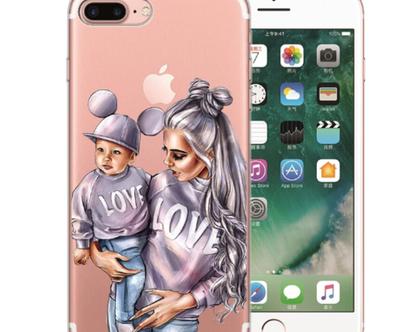 משלוח חינם כיסוי לאייפון לאמהות, נרתיק לאייפון, כיסוי לאייפון