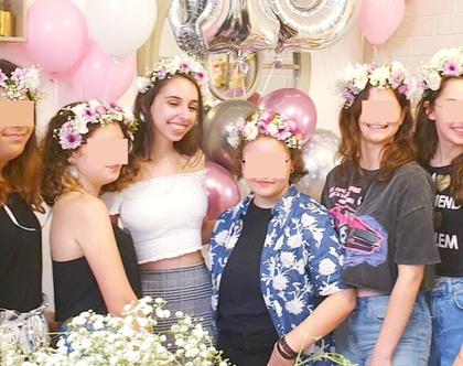 רעיון ליום הולדת 16 SWEET SIXTEEN, רעיון ליום הולדת 16, רעיון ליום הולדת לנערות, יום הולדת סוויט 16,סדנאות יצירה לנערות, מקדמה:
