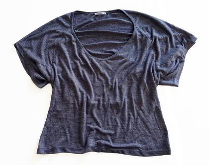 חולצת כותנה עטלף
