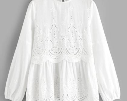 חולצה לבנה, חולצה לנשים, חולצה לעבודה, חולצה לבנה מכופתרת, חולצה לחג