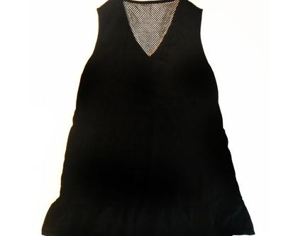 שמלה בשילוב רשת