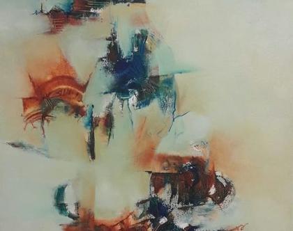 """אומנות , ציורים מקוריים """"Oil on Canvas """"DETRAS DEL MURO"""