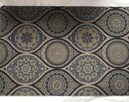 שטיח למטבח ב 5 גדלים l שטיח עם הדפס Kitchen l שטיחון מעוצב l שטיח אתני