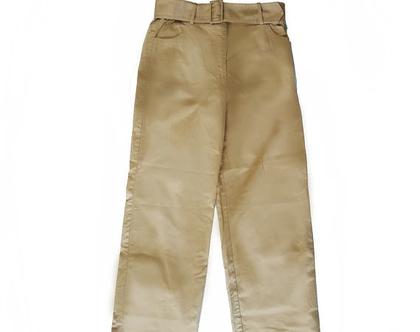 מכנסי כותנה בסגנון קולוניאלי