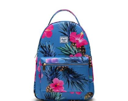 תיק גב | תיק לנערות | תיק לנשים | תיק גב הרשל | Nova mini Backpack |pinapple| Herschel