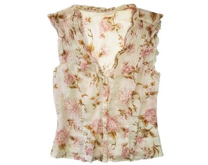 חולצת כותנה פרחי בר