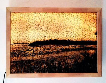 קופסאת אור, גוף תאורה אמנותי, תאורה אמנותית