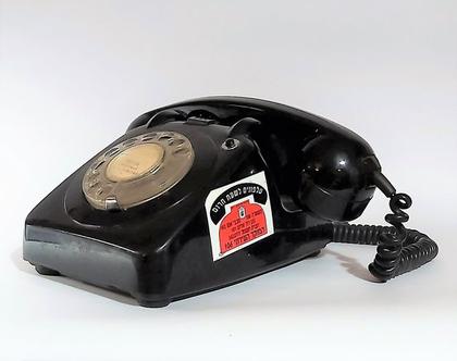 טלפון ישראלינה משרד התיקשורת טלרד מצב מעולה חתום מלמטה 14.10.1974...לאספנים