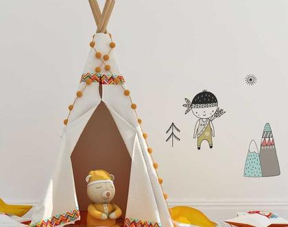 מדבקות קיר דגם נורדי   מדבקות קיר לחדר תינוקות   מדבקות קיר לחדר ילדים   מדבקות לחדר בנים   מדבקות קיר חיות   עיצוב חדר ילדים