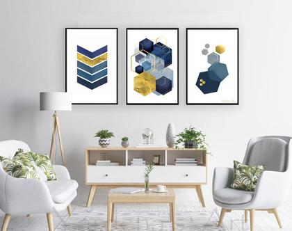 סט תמונות גיאומטריות בעיצוב מקורי- Nordic design-3 | תמונות לעיצוב הבית |עיצוב נורדי| תמונות בעיצוב מינימליסטי