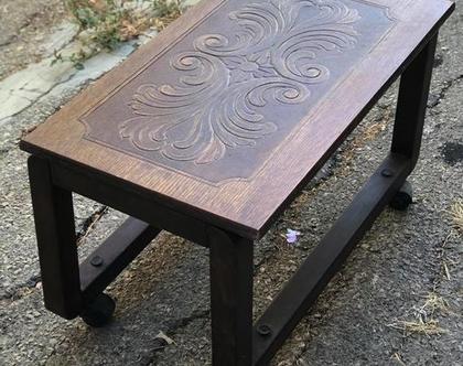שולחן סלון פלטת אבירים (לפני חידוש)