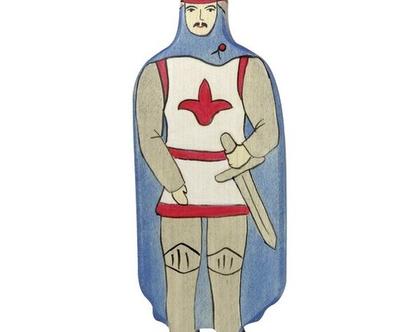HOLZTIGER אביר עשוי מעץ מייפל ברוח וולדורף 80245