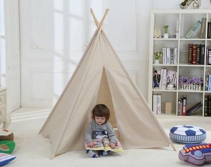 אוהל טיפי לילדים גדול במיוחד