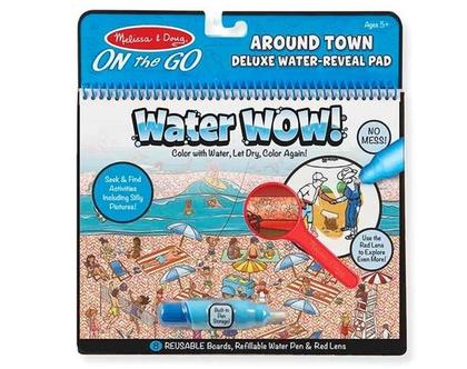 חוברת טוש מים מורחבת בעיר