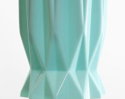 מנורת אוריגמי טורקיז קטנה, מנורת מנטה