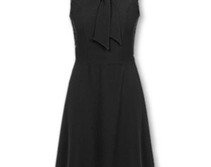 שמלה שחורה ללא שרוולים (מיי)