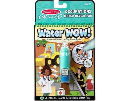 חוברת טוש מים – מקצועות