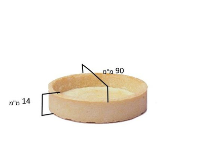 בסיסי פאי למילוי | בצק פריך מתוק | טארטלטים למילוי