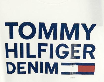 Tommy Hilfiger | חולצה לבנה לוגו טומי הילפיגר