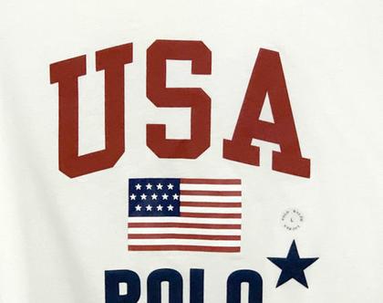 Ralph Lauren | חולצת לוגו לבנה ראלף לורן