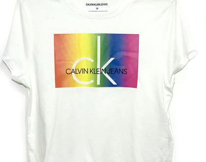 Calvin Klein | חולצה לבנה קלווין קליין