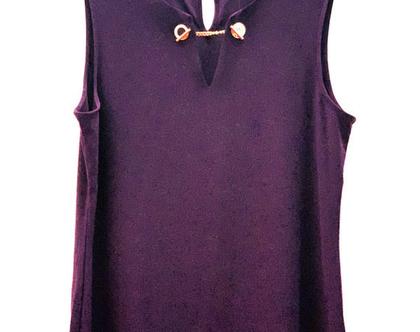 DKNY-Donna Karan | חולצה סגולה דונה קארן