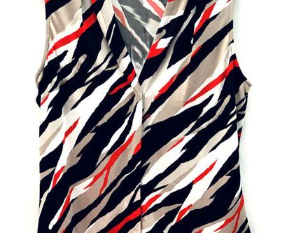 Calvin Klein | חולצה אבסטרקטית קלוין קליין