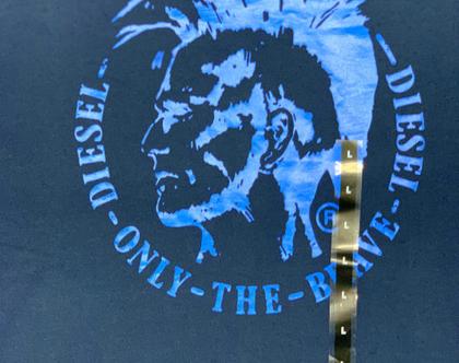 Diesel | חולצה כחולה שרוול קצר דיזל