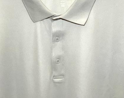 Adidas | חולצת פולו אפור בהיר אדידס