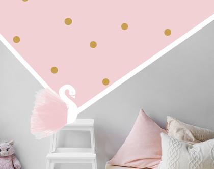 מדבקות עיגולים בכל גודל צבעים לבחירה | מדבקות לחדר ילדה | מדבקות לחדר בנות | מדבקות קיר מעוצבות | מדבקות קיר איכותיות | מדבקות לחדר ילדים