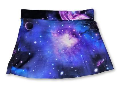 חצאית גלקסיה לילדות | חצאית מעוצבת