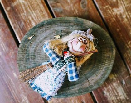 באבא יאגה/ בובת גרב מכשפה/ בובה מכשפה זקנה