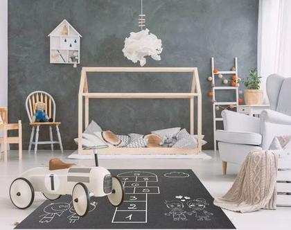 שטיח ויניל דגם קלאס | שטיח pvc רך | שטיח לחדרי ילדים ענק 1.2X1 מטר