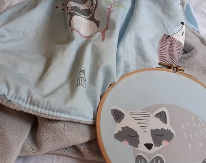 שמיכת חורף לתינוק דגם פלא