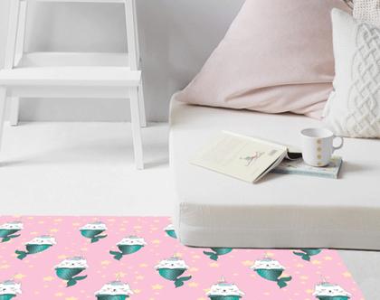שטיח ויניל | שטיח pvc | שטיח לחדר ילדים | מתנה לאוהבי חתולים | שטיח פי.וי.סי | שטיח למטבח | שטיח לינולאום | שטיח pvc לחדר ילדים | שטיח ורוד