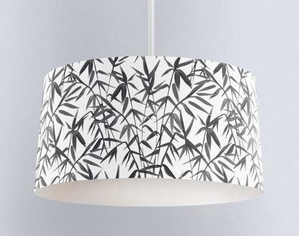 אהיל טרופי אפור | תאורה לבית | תאורה מעוצבת | אהיל מעוצב