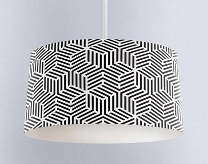 אהיל 3D שחור | תאורה לבית | תאורה מעוצבת | אהיל מעוצב