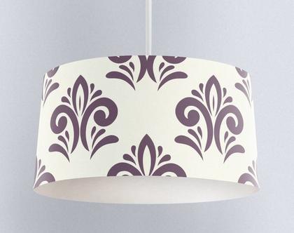 אהיל רויאל סגול גדול | תאורה לבית | תאורה מעוצבת | אהיל מעוצב