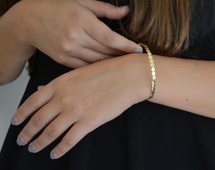 צמיד זהב עדין צמיד עיגולי זהב, צמיד עדין, צמיד מיוחד, צמיד מעוצב צמיד לאישה, צמידים לכלה, צמיד לכלה, צמיד זהב לכלה