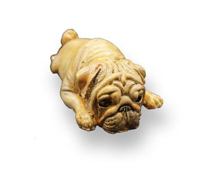 פסל נוי -כלב בולדוג